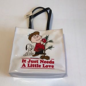 """Bags - Charlie Brown tote 🆕 12""""H x 12.5W wflaw on 1 side"""
